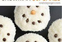 Christmas sweet treats / The cutest & most festive sweet treats for the holiday season ⛄️