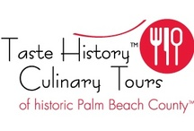 Taste History Culinary Tours / Taste History Culinary Tours of Historic Palm Beach County, Florida travel to historic Lake Worth and Lantana; and also Delray Beach and Boynton Beach, Florida.  Tastehistoryculinarytours.org