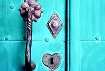 Locks, Keys, Knobs & Knockers /  I am asking that no more than five pins per day, per board. Please respect this, otherwise I will block You, Sorry. Feel free to follow me, and visit as often as you like. Enjoy!  / by Kelley Baker
