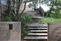 stairs / interior, exterior, all interesting and a nice variety of materials