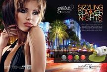 Gelish   Sizzling Summer Nights / Summer 2012 Collection