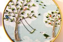 Crafty - Embroidery and Cross Stitch / by Rachel McGinnis