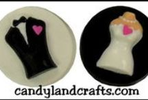 Wedding ideas / Candy, cake and cookie favor ideas for weddings and showers.