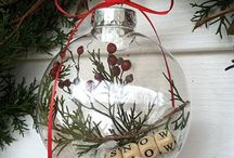 Christmas / Tafel decoratie