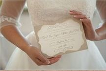 Wedding Invitations / Ideas and inspirations for wedding invitations.