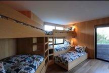 bunk beds / I love slumber parties