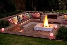 Home Ideas. / Home decking Inspiration and examples of how are Non slip timber decking has been used.