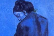 Pablo Picasso | The Blue Period / We all get blue sometimes. Let Picasso help you wallow.