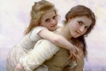 William Adolphe Bouguereau | Intelligent Girls