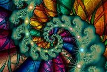 Spiraling in Fractal Art