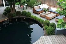 Swimming pools. / Ideas for swimming pool projects at home.