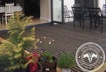 Decking spaces. / Ideas for creating great decking spaces at home.