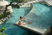 Luxury:Pools and terraces