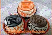 Graduation idea's /  Idea's for cakes, cookies, cupcakes and more.
