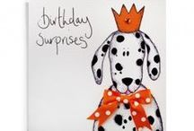 A Spotty Dog Birthday Party / Spotty dog turns one.  Celebrating with a 1st birthday party for her and for the children.  Ideas for the children and for the dogs