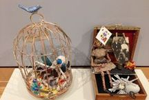 "Exhibit | ""Kathy Tarr: Art of Remembrance"" / An exhibition of Day of the Dead memory boxes."