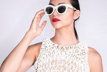 3D Printing meets Fashion / Fashionable 3D prints and new design possibilities due to 3D printing