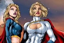Supergirl and Power Girl / My favorite Kyptonians