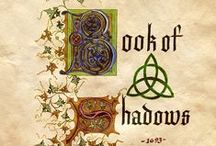 iBook of Shadows / I am not religious, spiritual, a witch or wicca.  But I LOVE seeing Books of Shadows.  I love the art, the style, everything.  My goal here is to collect enough to make a book.  Not for real...of course, but it would be cool.