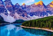 Always Wanderlust North America / Wanderlust destinations in North America that includes the United States, Alaskat, Yukon Territories, and Canada.
