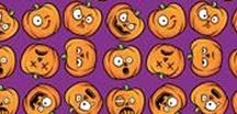 Halloween Fabric / Find these and more Halloween fabric designs at My Fabric Designs and have them printed on any of our 26 high quality fabrics!  http://bit.ly/2e4wZ23