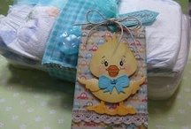 PKS Baby Ideas / Peachy Keen Stamps Papercrafting Ideas for Baby Showers and New Baby Greetings