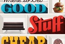 Typography we like! / Studio Koeck & IJ ontwerpt en illustreert. Van huisstijl tot website, van brochure tot compleet concept. Utrecht - www.studiokoeckenij.nl - @studiokoeckenij