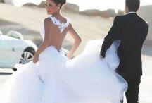 Wedding ideas ~ Gowns ~Ect... / by Lonna L.Schultz Watervliet Schultz