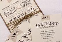 Lovely wedding stationery