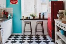 Room Inspo: 1950s Diner Kitchen
