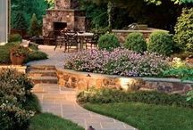 Outdoor space / by Cheryl Thompson