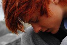 Male: Red Hair / by A Novel Idea