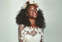 Natural Hair Brown Brides / by Beautiful Brown Bride
