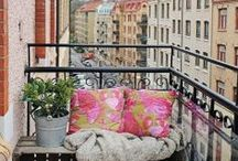 balkons / aankleding balkons