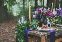 Gypsy Wedding (navy blue dress)