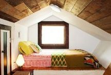 Tiny House Beds / Design inspiration for sleeping areas when  space is limited / by Mary Beth Coleman
