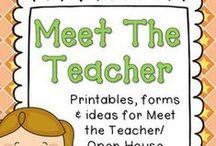 Back to school/ Meet the teacher