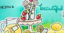 Lawn Fawn Love ❤️ / Amazing Lawn Fawn cards :)