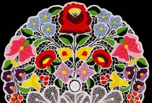 hungarian embroidery and lace  / by Ligija