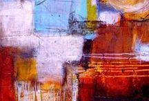 Peinture abstraite / by Katrine Ved