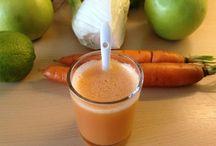 Drink; Juice / Juicing recipes for a slow juicer or a blender