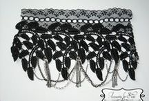 Lace Bracelets - by Accessories for Stars / http://accessoriesforstars.blogspot.ro/ accessoriesforstars@yahoo.com accessoriesforstars@gmail.com