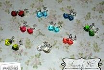 Swarovski Earrings - by Accessories for Stars / http://accessoriesforstars.blogspot.ro/ accessoriesforstars@yahoo.com accessoriesforstars@gmail.com