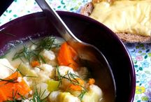 Food; Soup! / From travelling noodles for office lunches and delightful light summer consommé 's to hearty winter soups that will fill and warm you.
