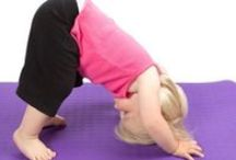 Yoga Kids! / A collection of books, games, activities, DVDs, and resources for children's yoga--many personally tested with my niece and the children whom I teach :-)