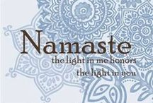 Namaste | The Light Within / A collection of beautiful, inspiring images that embody the concept Namaste and Anjali Mudra _/\_ - enjoy for your yoga practice.