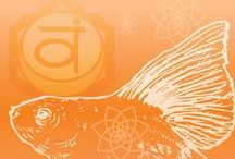 2. Svadhisthana Chakra | Sacral / A collection of information, affirmations, mantras, and grounding art related to the Sacral Chakra - Svadisthana, the second charka. Associated with relationships, sexuality, and intimacy.