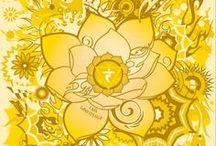3. Manipura Chakra | Navel / A collection of information, affirmations, mantras, and grounding art related to the Navel or Solar Plexus Chakra - Manipura, the third charka. Associated w/ self-determination, will power, purpose, self-empowerment, the sun.