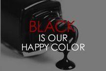 BLACK IS OUR HAPPY COLOR / Street People Atelier We Love Black StreetPeopleAtelier.com