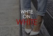 WHITE ON WHITE / Street People Atelier we love white  StreetPeopleAtelier.com